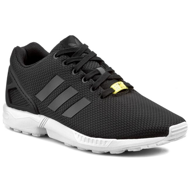 new concept 81dc7 47722 Skor adidas - ZX Flux M19840 Black1 White