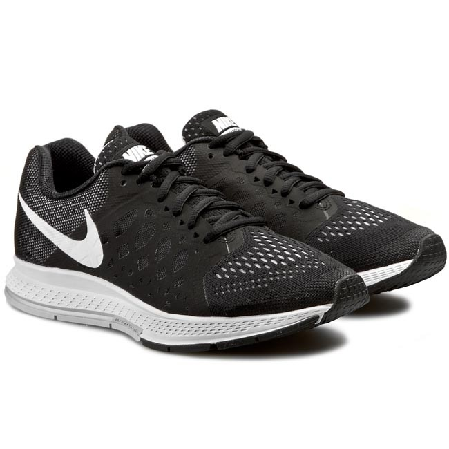Skor NIKE Air Zoom Pegasus 31 654486 010 BlackWhite