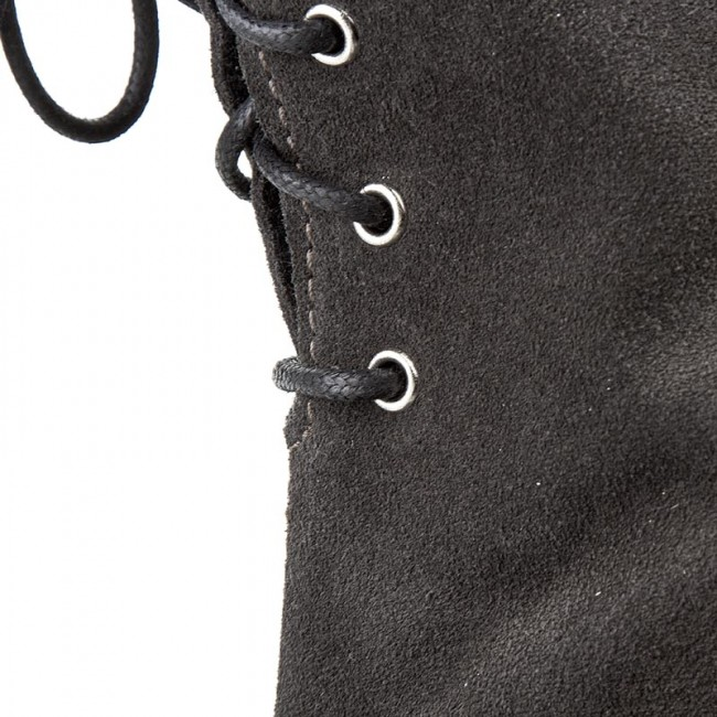 Over knee boots SOLO FEMME 52068 07 F54000 01 00 Grafit