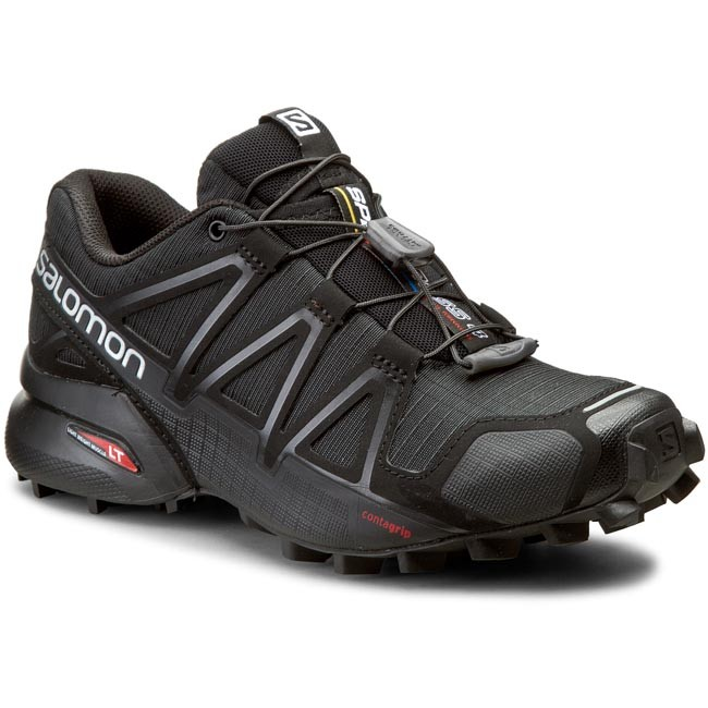 Skor SALOMON Speedcross 4 W 383097 20 V0 BlackBlackBlack Metallic