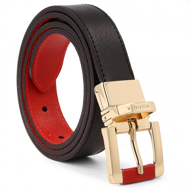Dambälte TOMMY HILFIGER - Square Buckle Rev Belt 2.5 AW0AW03605 75 901