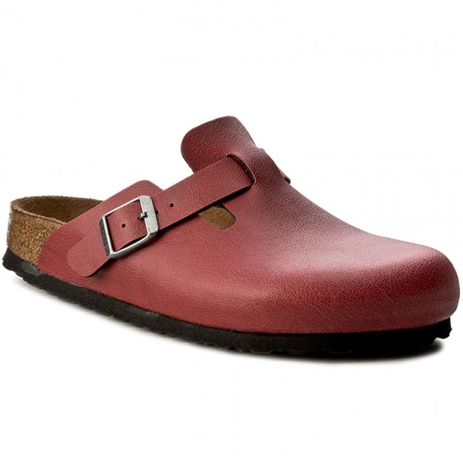 Sandaler BIRKENSTOCK - Boston 1000310 Pull Up Bordeaux