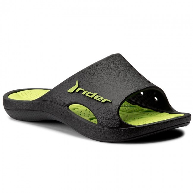 Sandaler RIDER - Bay III Kids 81185 Black/Green 22629
