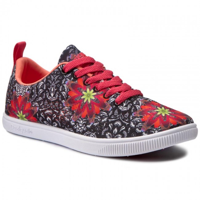 Sneakers DESIGUAL - Camden Save The Queen 72KSDC0/2000 Färgglad Svart