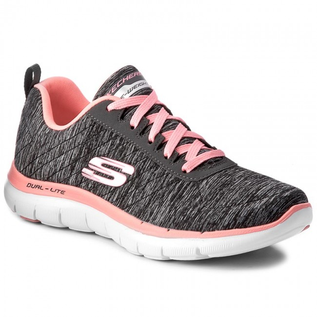 Skor SKECHERS Flex Appeal 2.0 12753BKCL BlackCoral
