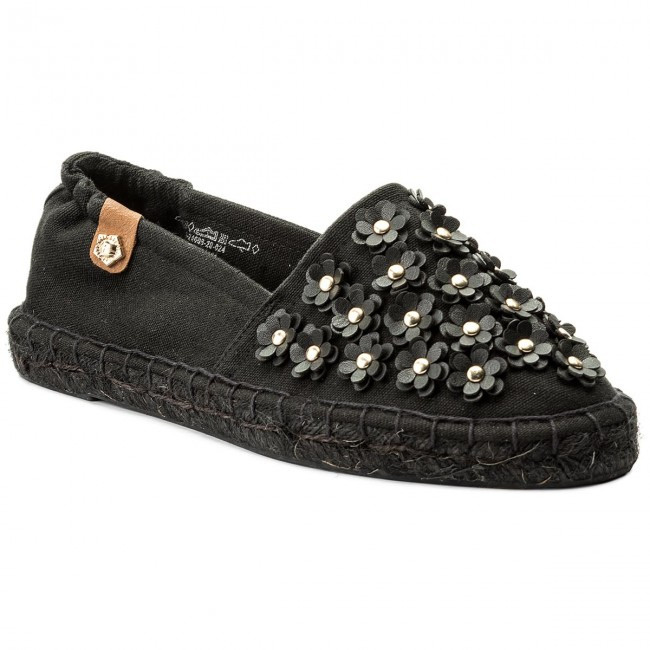 Espadrillos TAMARIS 1 24608 20 Black Canvas 024