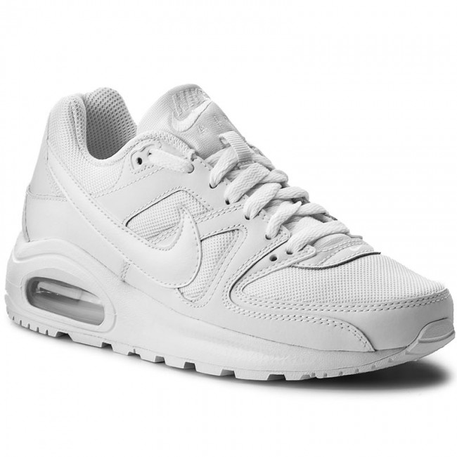 Skor NIKE Air Max Command Flex (GS) 844346 101 WhiteWhiteWhite