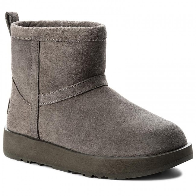 Skor UGG W Classic Mini Waterproof 1019643 WMtl