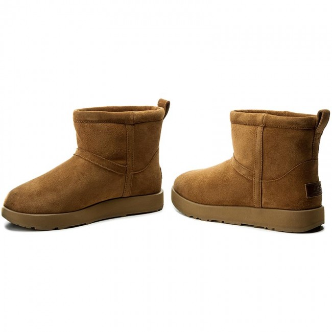 Skor UGG W Classic Mini Waterproof 1019643 WChe