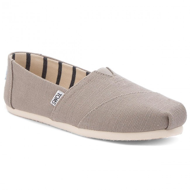 Lågskor TOMS Classic 10011665 Morning Dove Heritage Canvas