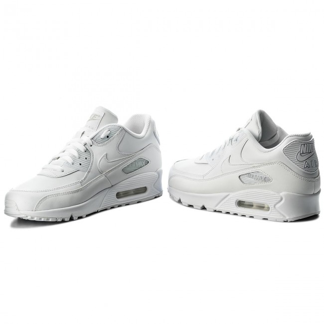 air max 90 white leather