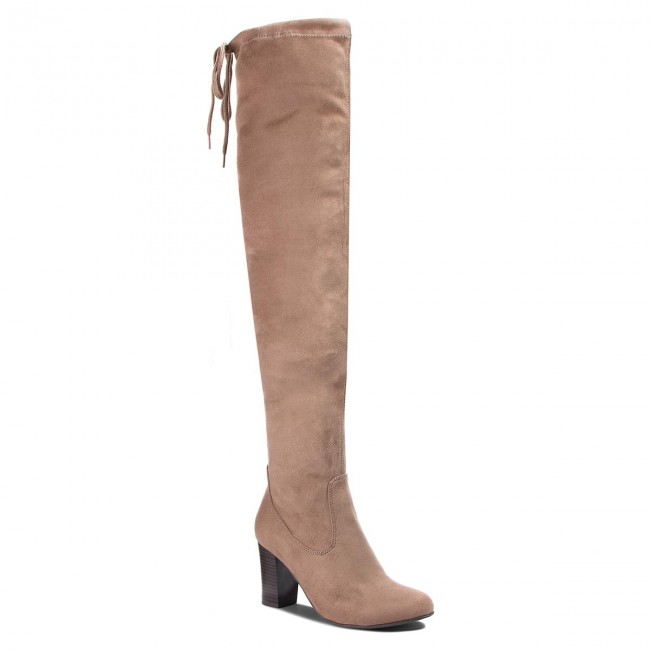 Over knee boots CAPRICE 9 25504 21 Stone Stretch 208