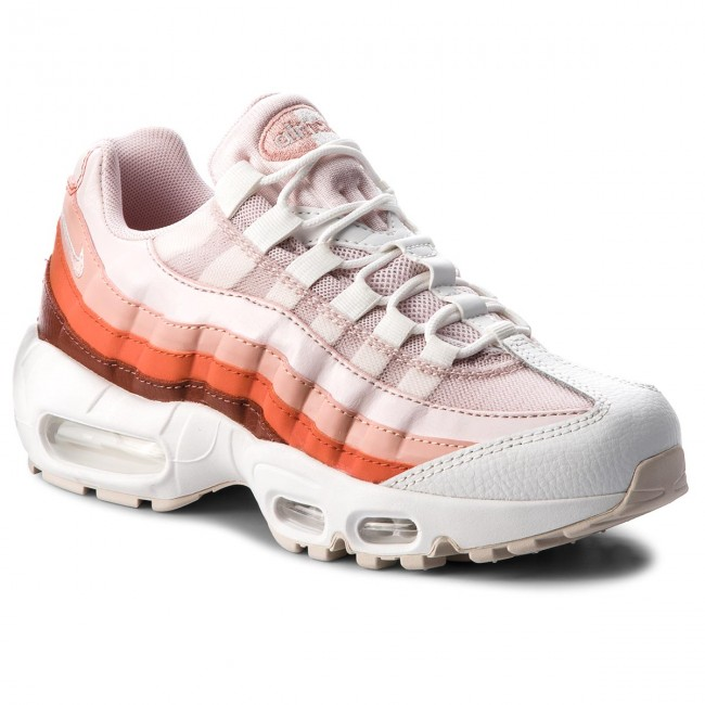 Skor NIKE Air Max 95 307960 604 Barely RoseCoral Stardust