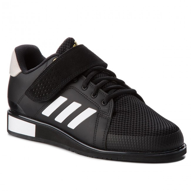 Skor adidas Power Perfect III BB6363 Core BlackFtwr WhiteMatte Gold