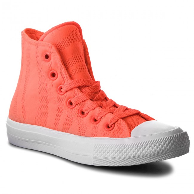 Sneakers CONVERSE - Ctas II Hi 155492C Hyper Orange/White/Gum