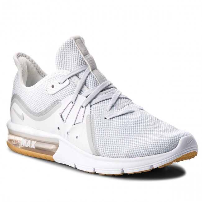 köpa Nike Air Max Sequent 3 Dam Gymnastikskor Vit Pure
