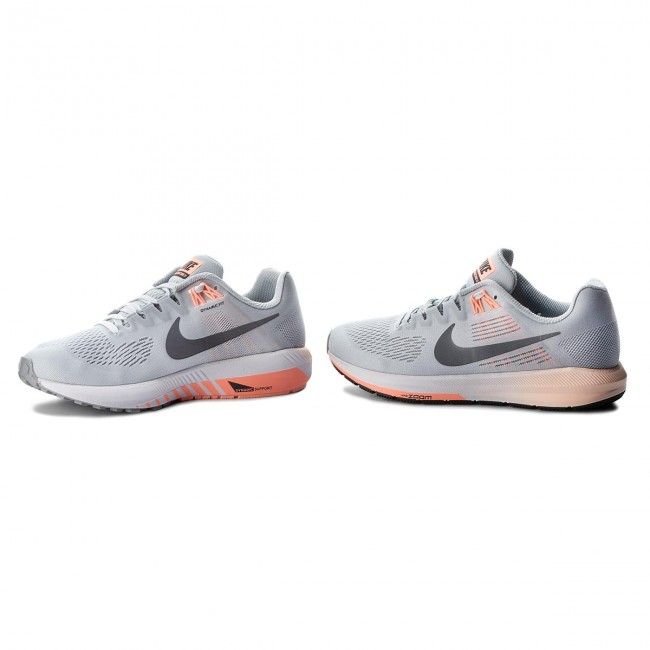 Skor NIKE Air Zoom Structure 21 904701 400 Armory Blue
