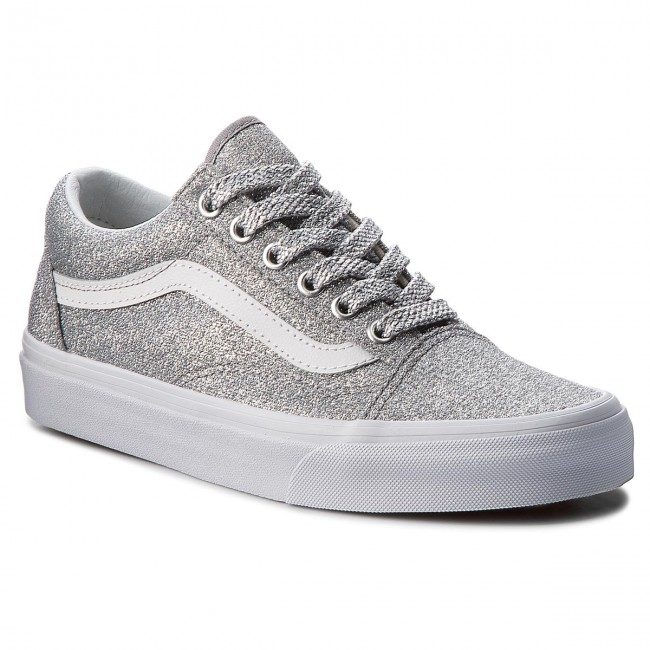 a038a7ab973 Sneakers VANS - Old Skool VN0A38G1UAW (Lurex Glitter) Silver/Tr ...