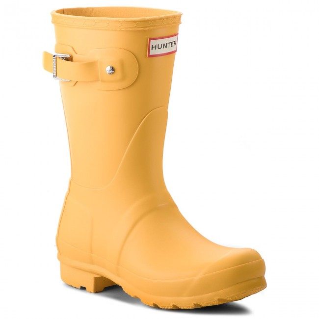 Gummistövlar HUNTER Original Short WFS1000RMA Yellow
