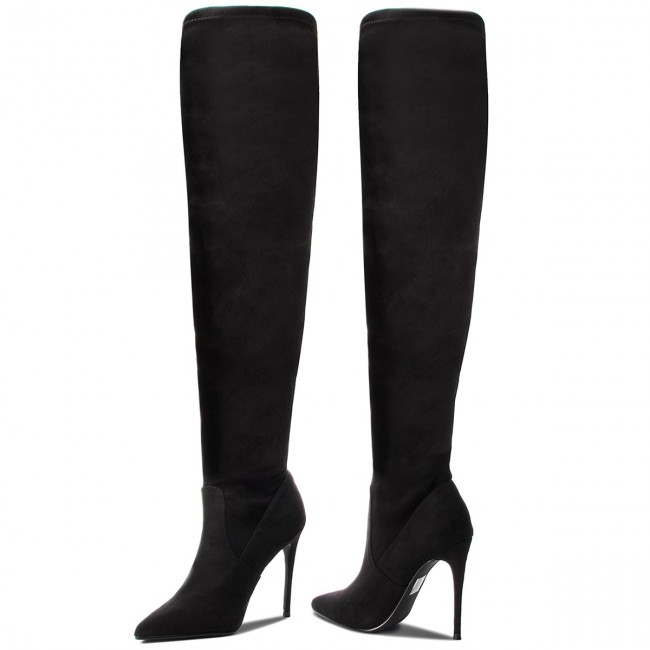 Over knee boots STEVE MADDEN Dade Overknee Boot SM11000150 04001 001 Black