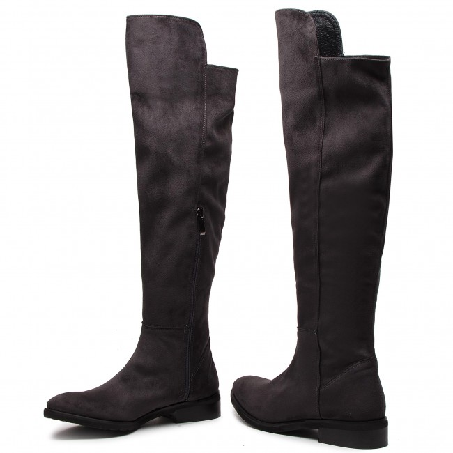 Over knee boots ROBERTO 246460 Grafit
