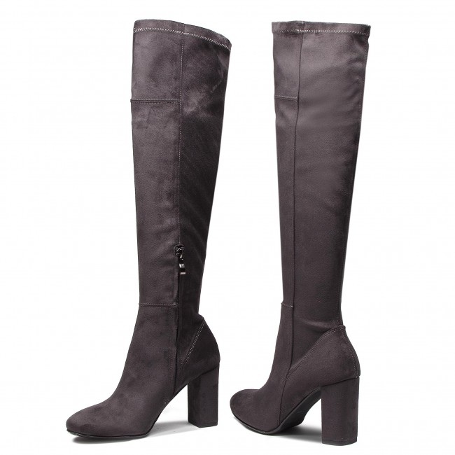 Over knee boots ROBERTO 248460 Grafit