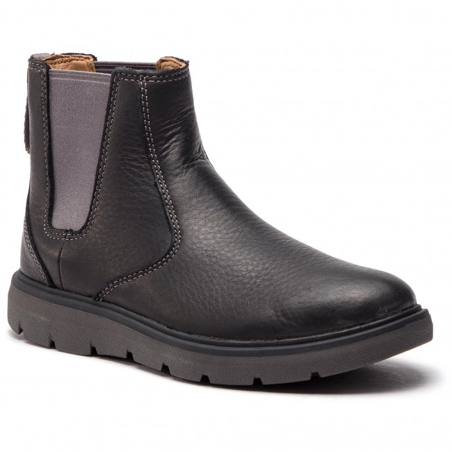 Boots CLARKS Un Map Up 261367877 Black Leather