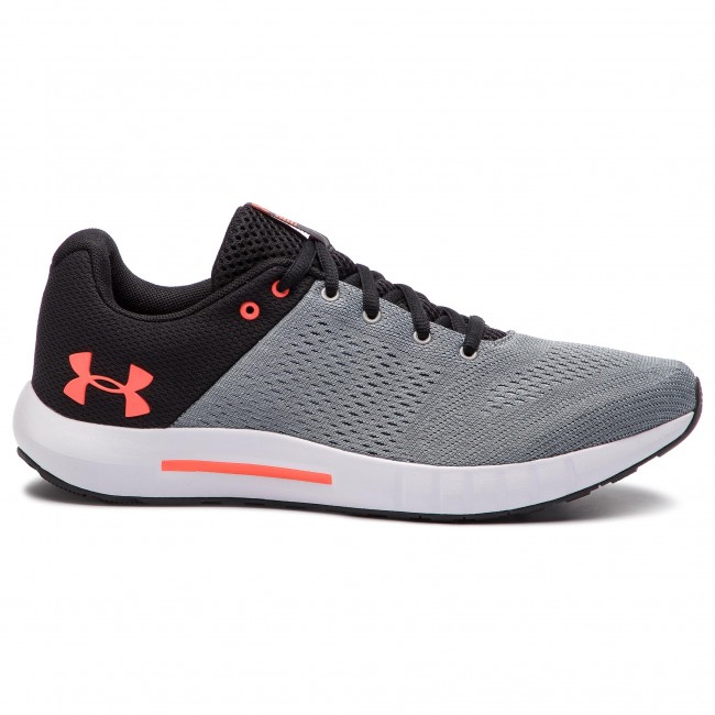 Skor UNDER ARMOUR Ua Micro G Pursuit 3000011 111 Gry
