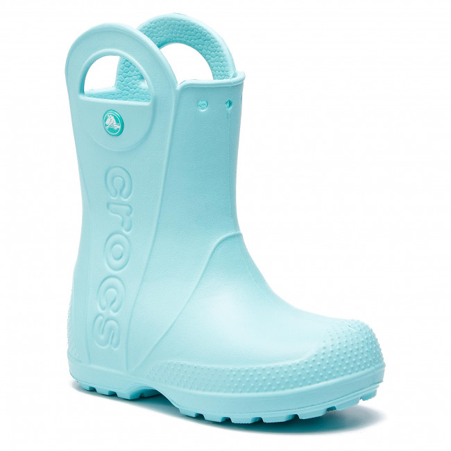 Gummistövlar CROCS Handle It Rain Boot Kids 12803 Grass