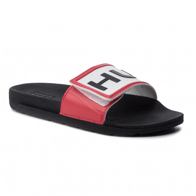Sandaler HUNTER Org Adj Logo Slide WFD4018EVA Black