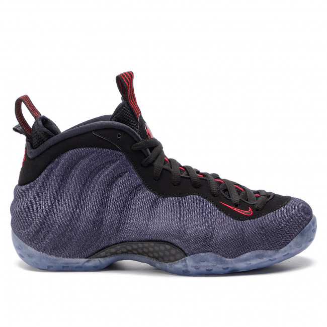 Skor NIKE - Air Foamposite One 314996 404 Obsidian/Black/University Red - Basketball - Sportskor - Herrskor