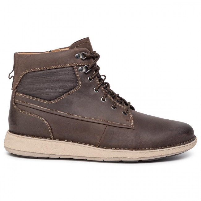 Stövlar CLARKS Un Larvik Peak 261445987 Brown Leather