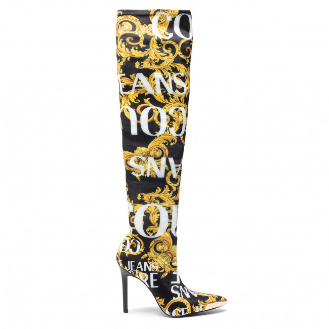 Over knee boots VERSACE JEANS COUTURE EOVUBS05 71158 M27