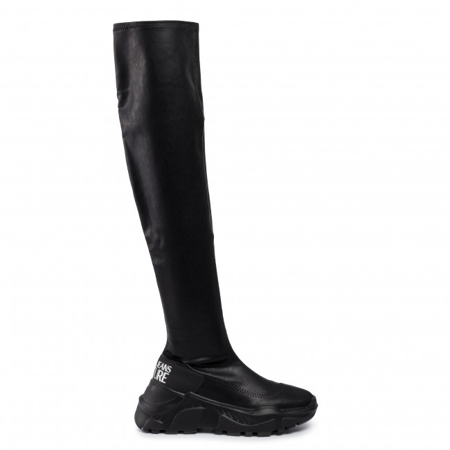 Over knee boots VERSACE JEANS COUTURE E0VUBSC3 71157 899