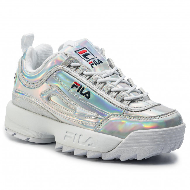 Sneakers FILA Disruptor M Low Wmn 1010747.3VW Silver