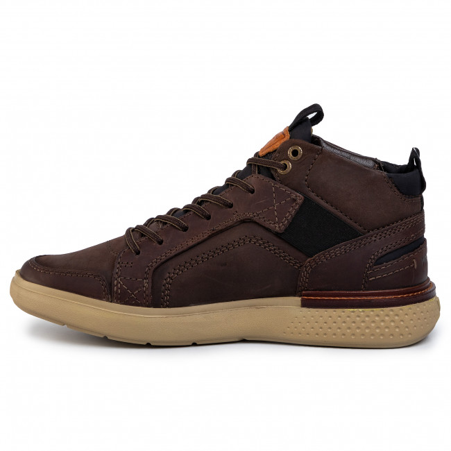 Sneakers WRANGLER - Discovery Cross WM92102A Dk.Brown 030 - Sneakers - Lågskor - Herrskor