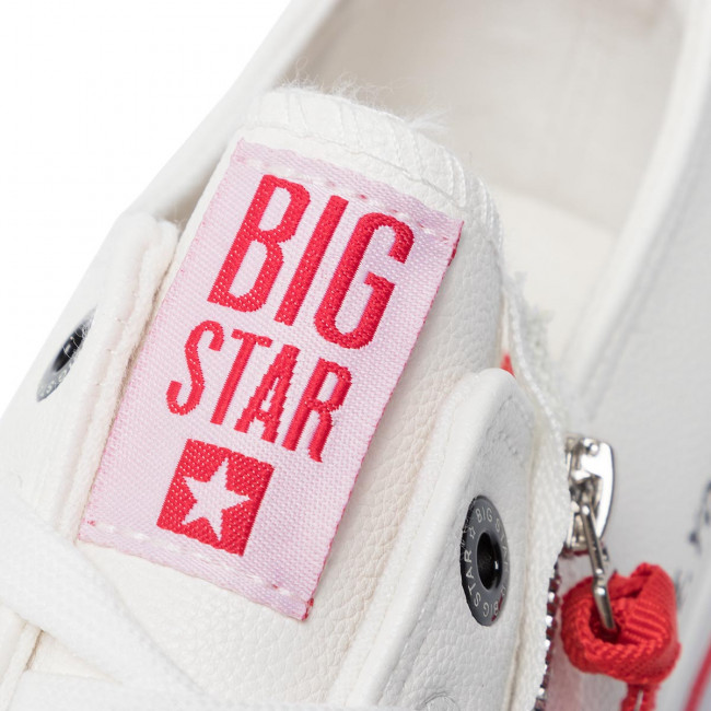 Sneakers BIG STAR - EE174333 White - Sneakers - Lågskor - Herrskor