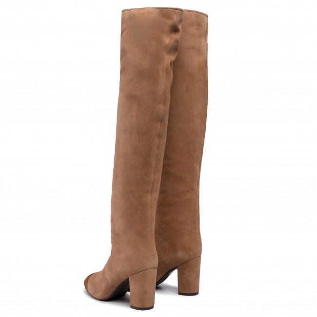 Over knee boots STUART WEITZMAN Kimberly 1L23117 CamelCoffee Suede