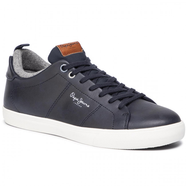 Sneakers PEPE JEANS Marton Basic PMS30501 Navy 595