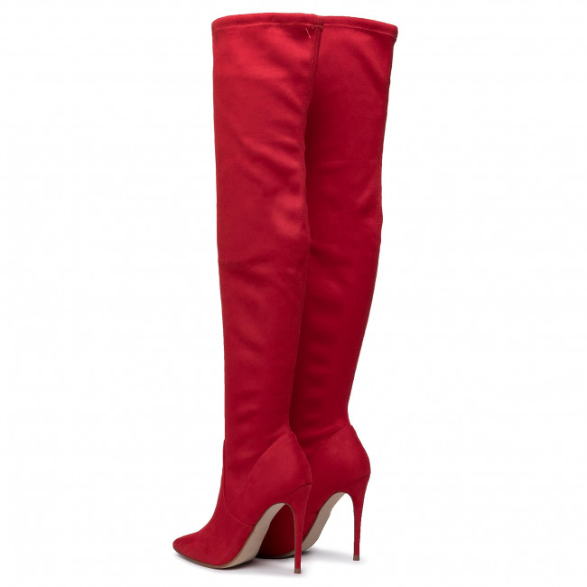 Over knee boots STEVE MADDEN Dade Overknee Boot SM11000150 04001 009 Red