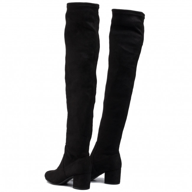 Over knee boots STEVE MADDEN Isaac Boot SM11000231 04001 001 Black