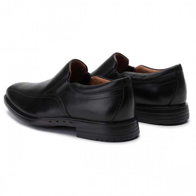 Lågskor CLARKS Unsherldan Go 261286947 Black Leather