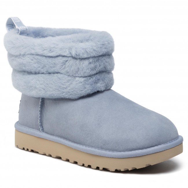 Skor UGG W Fluff Mini Quilted 1098533 Fha