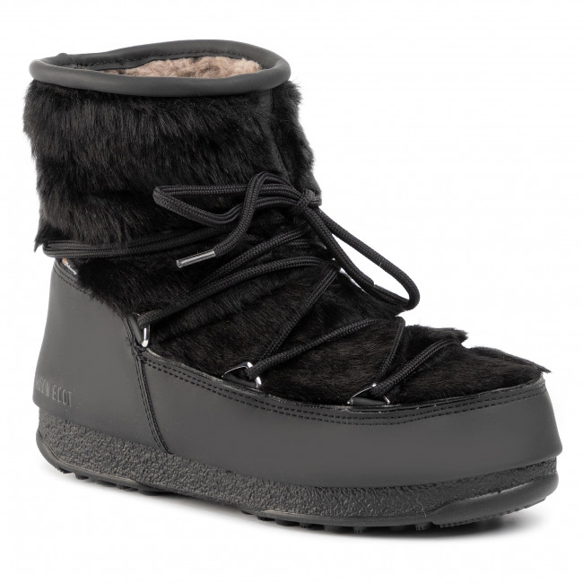 Vinterskor MOON BOOT Monaco Low Fur Wp 2 240097001 Black 001