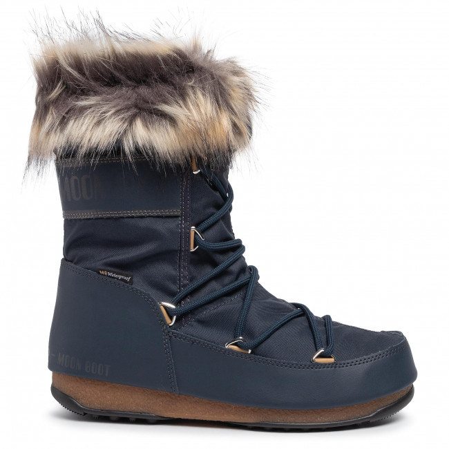 Vinterskor MOON BOOT Monaco Low Wp 2 24008800 Denim Blue 003