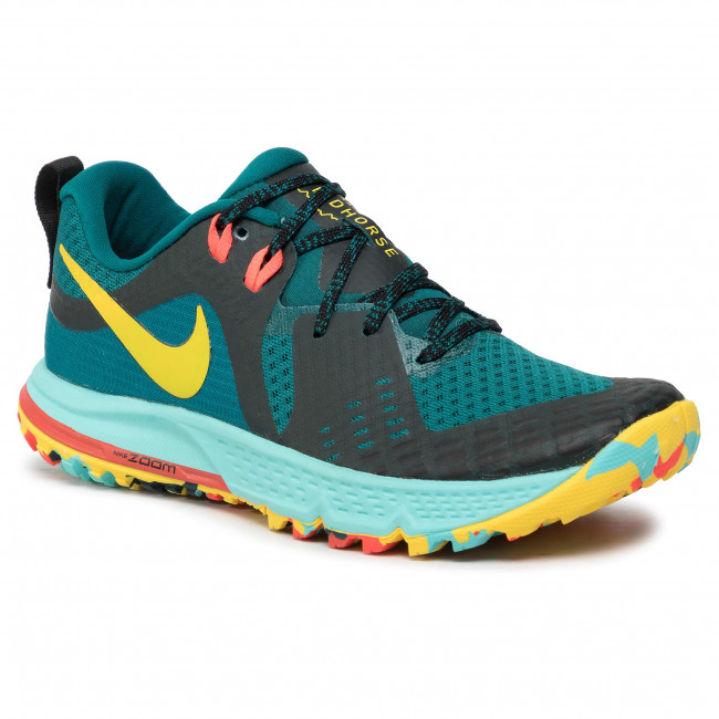 Skor NIKE Air Zoom Wildhorse 5 AQ2223 301 Geode TealChrome YellowBlack