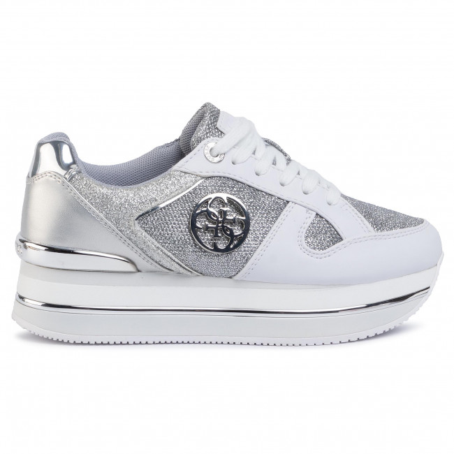 Sneakers GUESS Dealy FL5DLY FAM12 WHITESILVER
