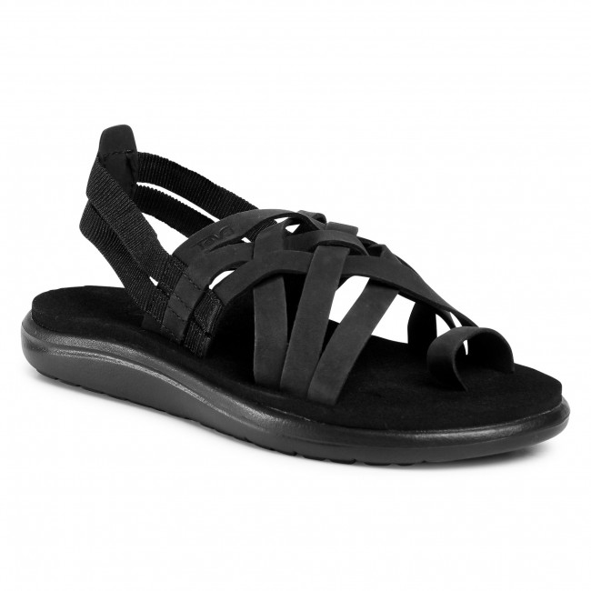 Sandaler TEVA Voya Strappy Leather 1106868 Blk