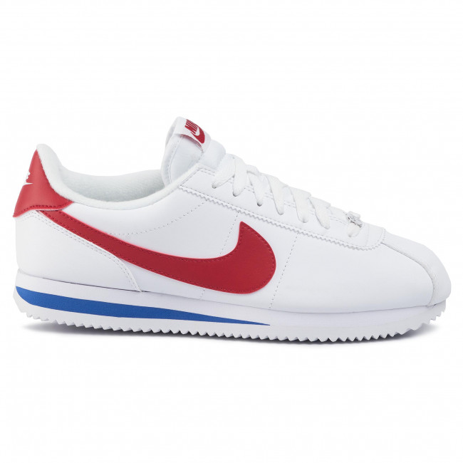 Skor NIKE Cortez Basic Leather 819719 103 WhiteVarsity Red