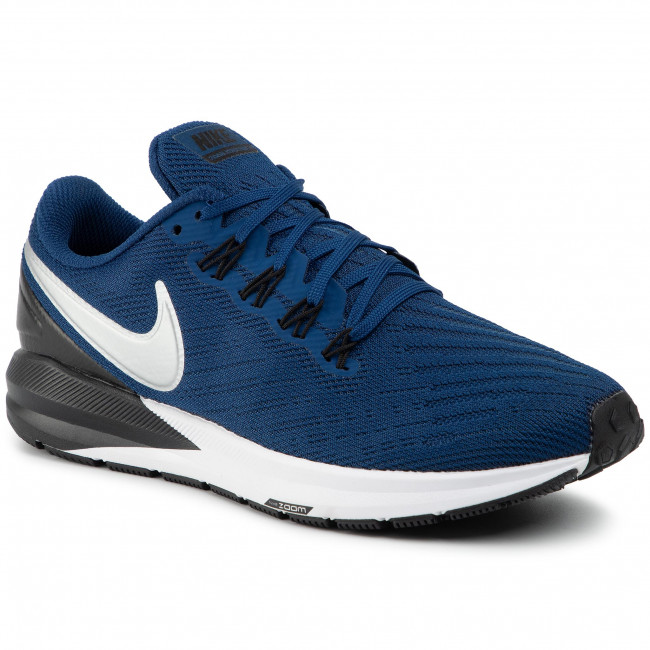NIKE ZOOM STRUCTURE 15 in black white men's Athletic